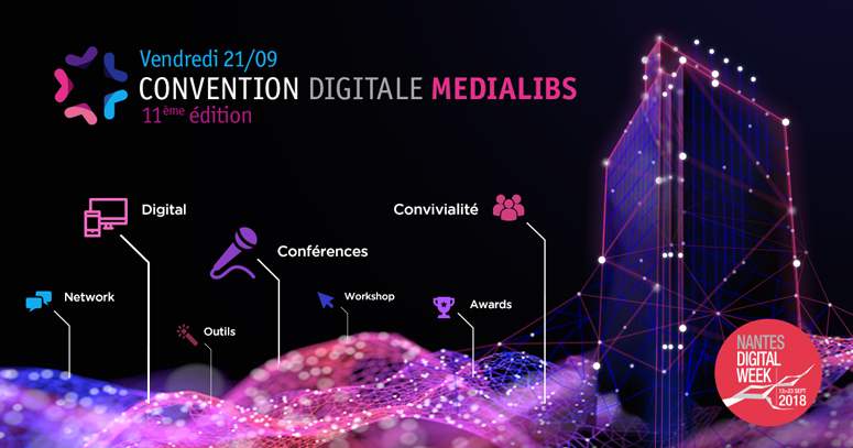 bandeau convention digitale medialibs 2018