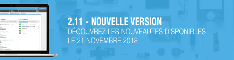 2.11 - nouvelle version site